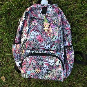 tokidoki Handbags - Tokidoki style kawaii print backpack