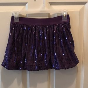 KnitWorks Other - KnitWorks Purple Sequin Skirt