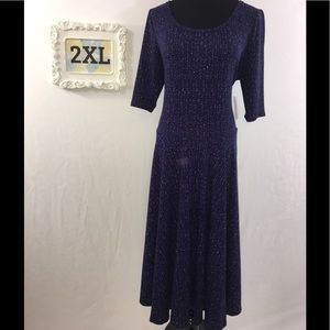 LuLaRoe Dresses & Skirts - 2XL Lularoe Nicole dress