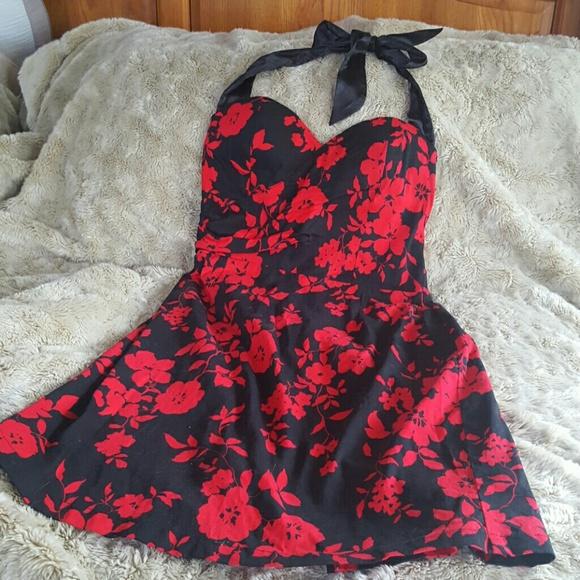 9d5939a0e APRILLS Dresses   Skirts - APRILLS SEXY PLUS SIZE HALTER DRESS SZ 18