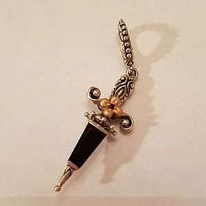 Bixbee Jewelry - BARBARA BIXBY STERLING DAGGER ENHANCER!!!