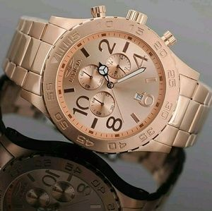 Invicta Other - NWT $900 Invicta rose gold chronograph Men's Watch