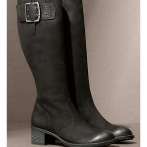 Paul Green Shoes - Paul Green Kendra Knee High Buckle Boot