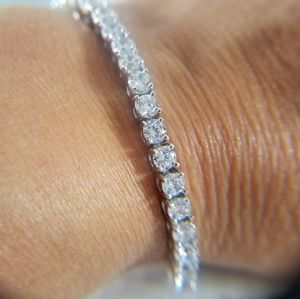 Jewelry - Tennis Bracelet 14k gold plated 4mm 8 inches