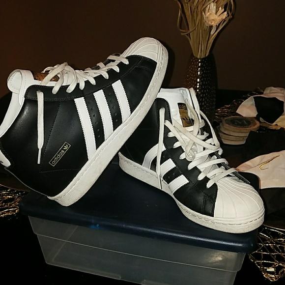 Buy - adidas shell toe high tops - OFF