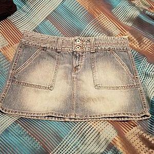 Hydraulic Dresses & Skirts - Hydraulic mini jean denim shirt