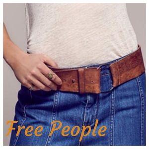 NWT Free People Belt