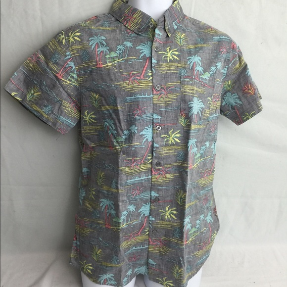 92fd13973d72 Men's Hawaiian style Molokai surf co button shirt