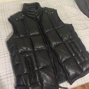 Sean John Other - Brand new mens Sean john xl leather vest
