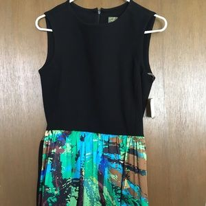 Taylor Dresses & Skirts - Really cute high-waisted A-line dress.