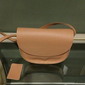 7CHI Handbags - 7CHI TAN LEATHER PURSE