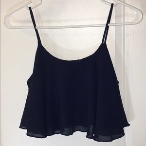 Zenana Outfitters Tops - Navy Shirt