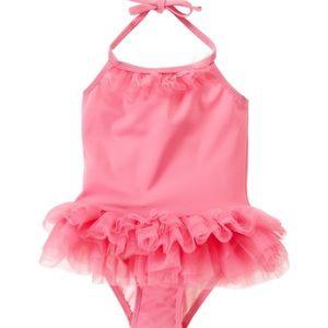 Janie and Jack Other - Janie & Jack Azalea Pink Tutu Swimsuit 3-6 Months