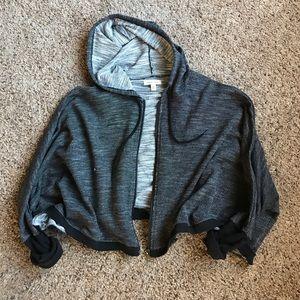silence + noise Jackets & Blazers - Gray hoody