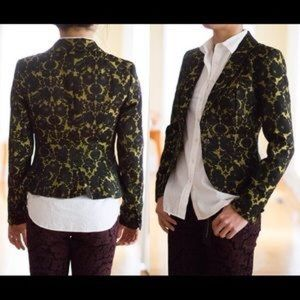 L'Wren Scott at Banana Republic Jackets & Blazers - LWren Scott lace fitted jacket