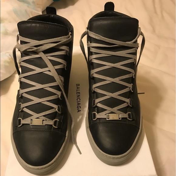 c9f53a9b2401 Balenciaga high top sneakers w  Receipt