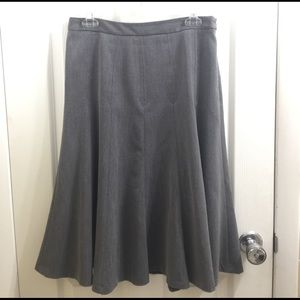 Gray Trumpet Skirt by East 5th