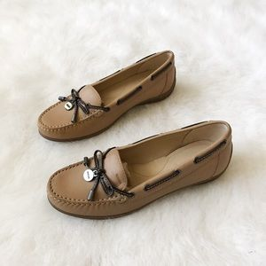 Geox Shoes - Geox Hespira Tan Leather Loafers💕