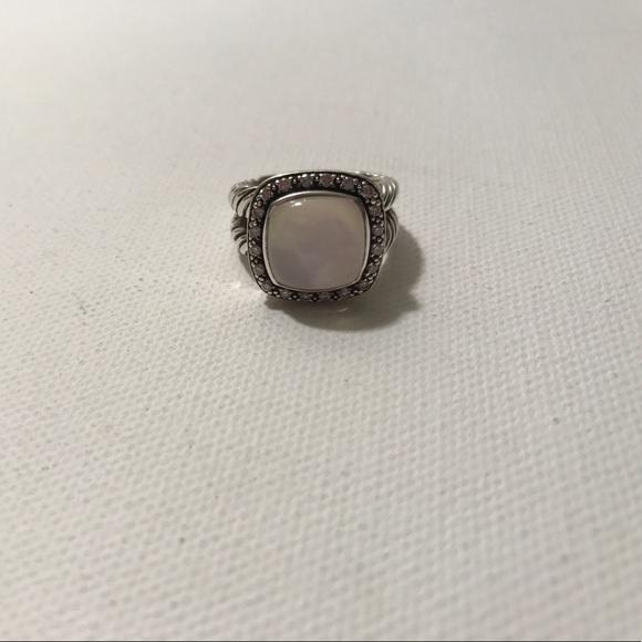 9cdc34443ac91 David yurman moonstone diamond Albion Ring