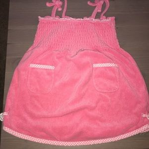 Janie and Jack Other - Janie & Jack Pink Swim Cover Up, 6-12 Months