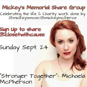 Sunday 9/24 Share Group in Honor of @mickeysmove