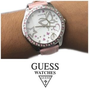 Baby Pink Guess Watch