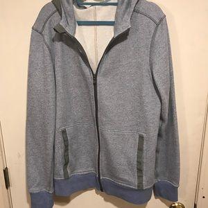9fd0ee78c5 lululemon athletica Shirts - Men's Blue Le Hoodie Heathered Full Zip Jacket