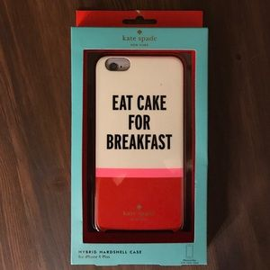 """kate spade Accessories - Kate Spade """"Eat Cake For Breakfast"""" iPhone Case"""