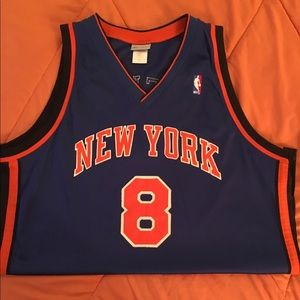 #8 New York Men's Basketball Jersey