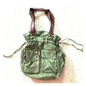 tyler rodan Handbags - Tyler rodan hunter green Bown purse washable