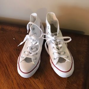 Converse Shoes - Converse high top white