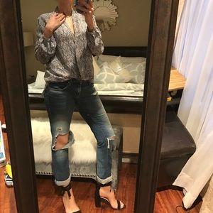 Gap distressed jeans!