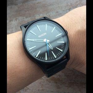 Nixon Other - Nixon Sentry matte black watch
