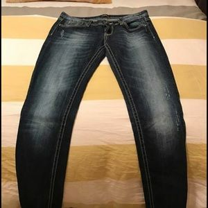 express rerock skinny jeans on Poshmark
