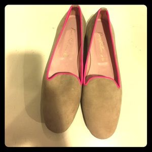Pretty Ballerinas Shoes - Pretty Ballerinas Size 38.5 Suede Loafers