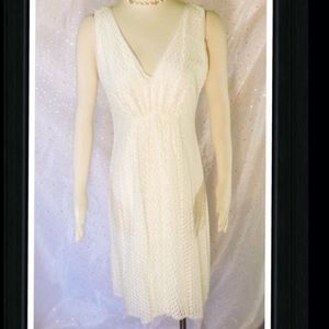 NWT Ivory Lace Wedding Graduation Dress