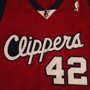 #42 NBA Clippers Basketball Jersey