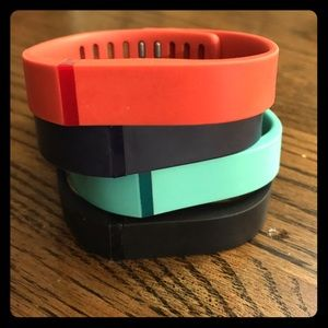 4 Fitbit Flex ‑ Activity Tracker Bands