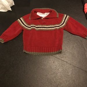 Baby boy twelve-month classy nwot sweater