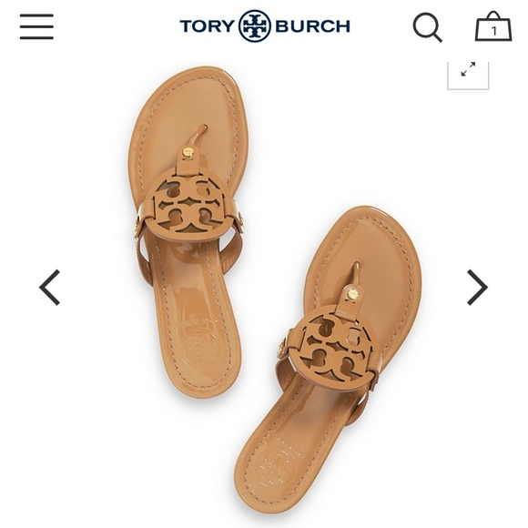 899b21d8e Tory Burch Shoes - ❗ ISO Tan Tory Burch Miller sandals ❗️