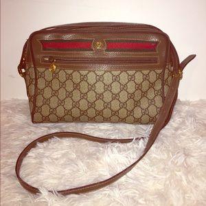 Authentic Gucci vintage crossbody bag