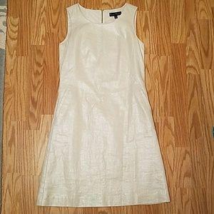 Mercer & Madison Dresses & Skirts - Sparkly linen sheath dress with pockets