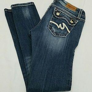 Anoname Denim - EUC Anoname Skinny Lowrise Flap Pocket Jeans