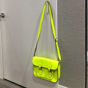 Cambridge Satchel Handbags - THE CAMBRIDGE SATCHEL COMPANY fluoro bag