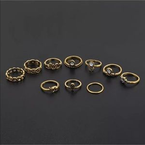 Jewelry - NWT Boho rings-10pieces
