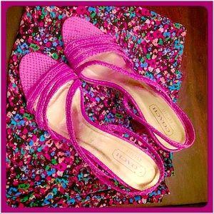 Coach Shoes - 🎉HP🎉30% OFF BUNDLES💖Coach Slingback Heels💖
