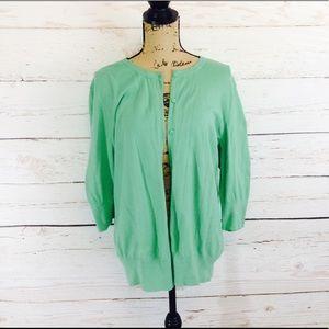 Merona Sweaters - Green Cardigan