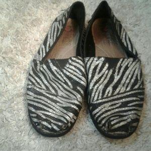 BOBS Shoes - Zebra Bobs!