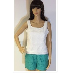 ADORABLE LACE SHORTS IN MINT GREEN