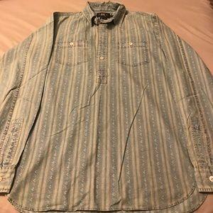 Ralph Lauren RRL half button shirt